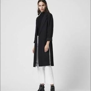 All Saints Alesia Duster Coat, size 2 NWT